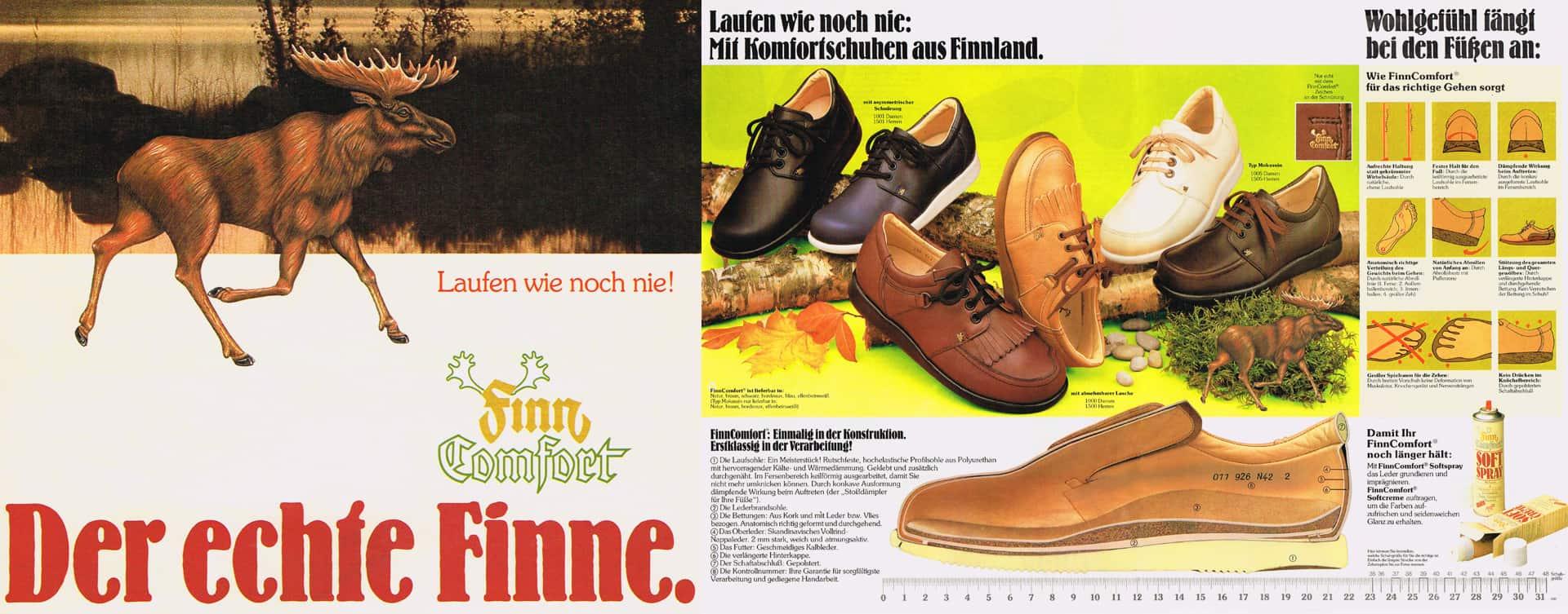 Als Friedrich Hackner im Sommer 1982 vom Vertreter einer Finnischen Herrenschuhmarke um seine Einschätzung zu einem neuen Schuhkonzept angesprochen wurde, stellte er in Finnland seine Vision eines neuartigen Schuhsystems vor.