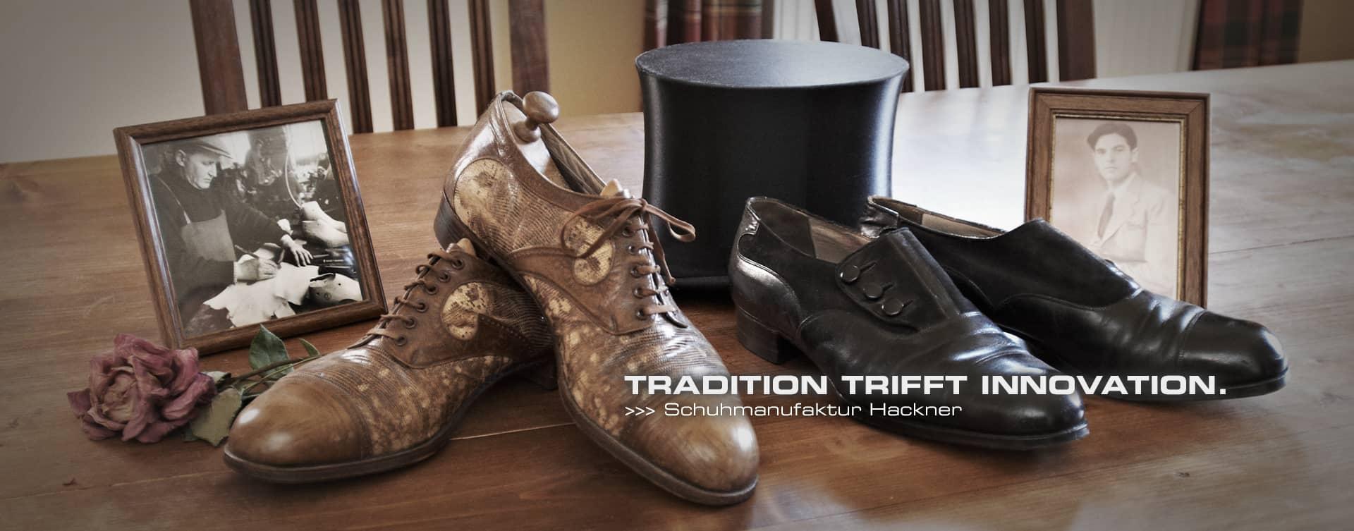Gegründet wurde die Schuhmanufaktur Hackner bereits im Jahre 1948, als sich Schuhmachermeister Fritz Hackner mit seiner Manufaktur in Hilpoltstein niederließ um sich fortan auf die Fertigung zwiegenähten Schuhwerks zu konzentrierten.